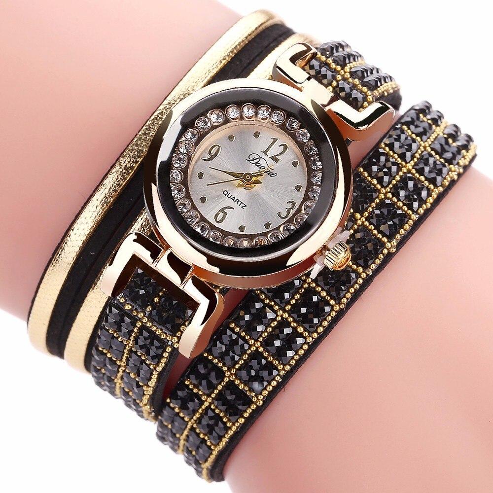 Best Sale 2018 Fashion Womens Bracelet Vintage Weave Wrap Quartz PU Leather Gift Casual Wrist Watches lady watch Relogio Feminin Переносные часы