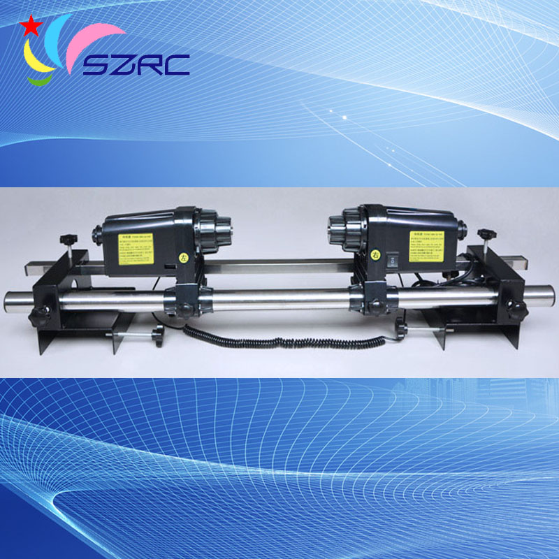 Two engines Printer Take up Reel System Paper Collector paper receiver compatible for Portrait machine plotter printer