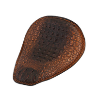 Neverland Brown Synthetic Leather Front Motorcycle Solo Seat For Harley Sportster 883 1200XL Chopper Bobber D35