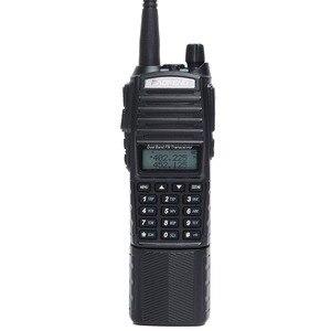 Image 3 - Baofeng UV 82 artı 8W yüksek güç 3800mAh pil ile DC konektörü walkie talkie uzun menzilli radyo Ham taşınabilir CB radyo