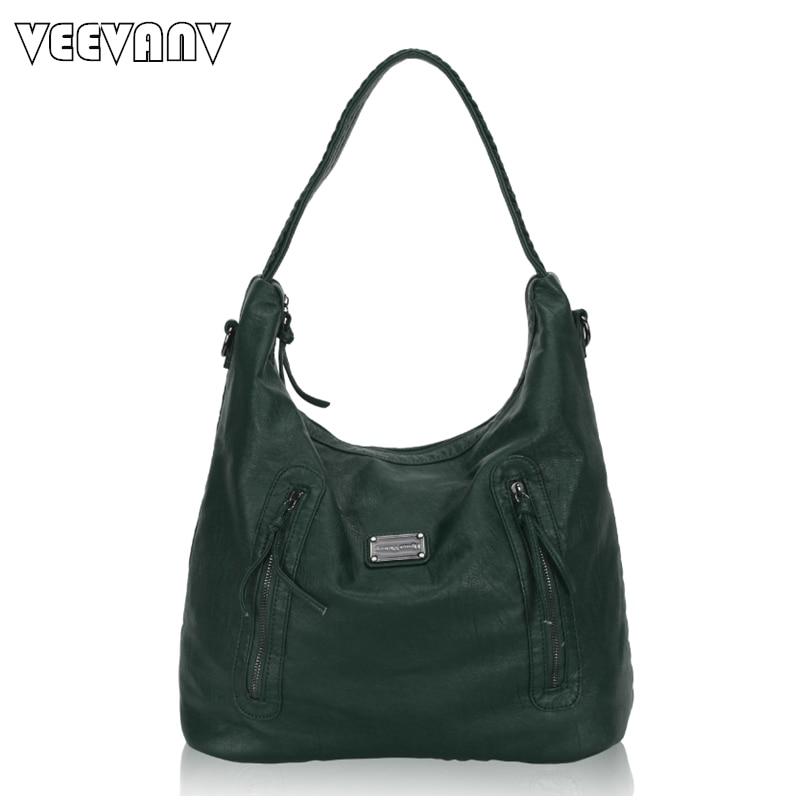 2017 VEEVANV Women Handbags High Quality Leather Shoulder Bag Ladies Tote Handbag Fashion Messenger Bag New Crossbody Bag Female 2017 women handbags ladies leather commuter office tote bag high quality women bag