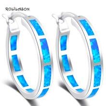 Fashion trend blue fire opal 925 sterling silver earrings fashion jewelry SE33 free shipping blue fire opal 925 sterling silver bracelet 7 5 0 5 p84