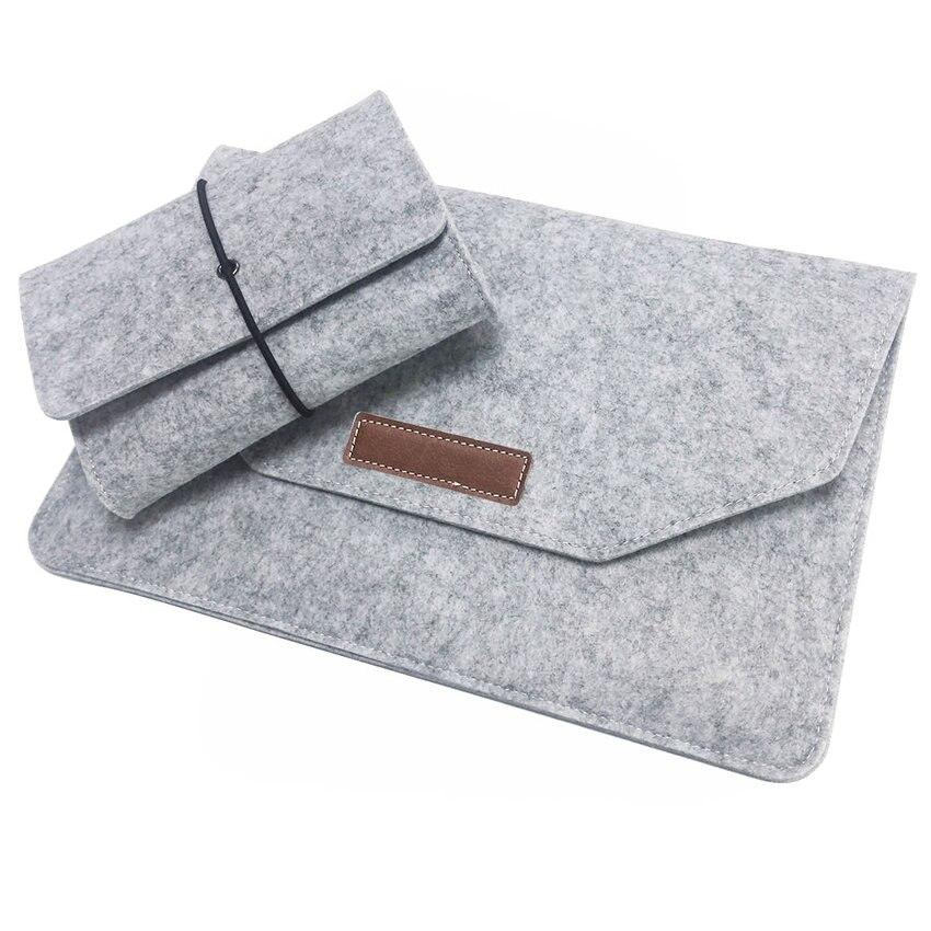 Mewah Laotop Bag Selimut Bulu Untuk Macbook Air 13 11 Pro 13 Dengan - Aksesori komputer riba