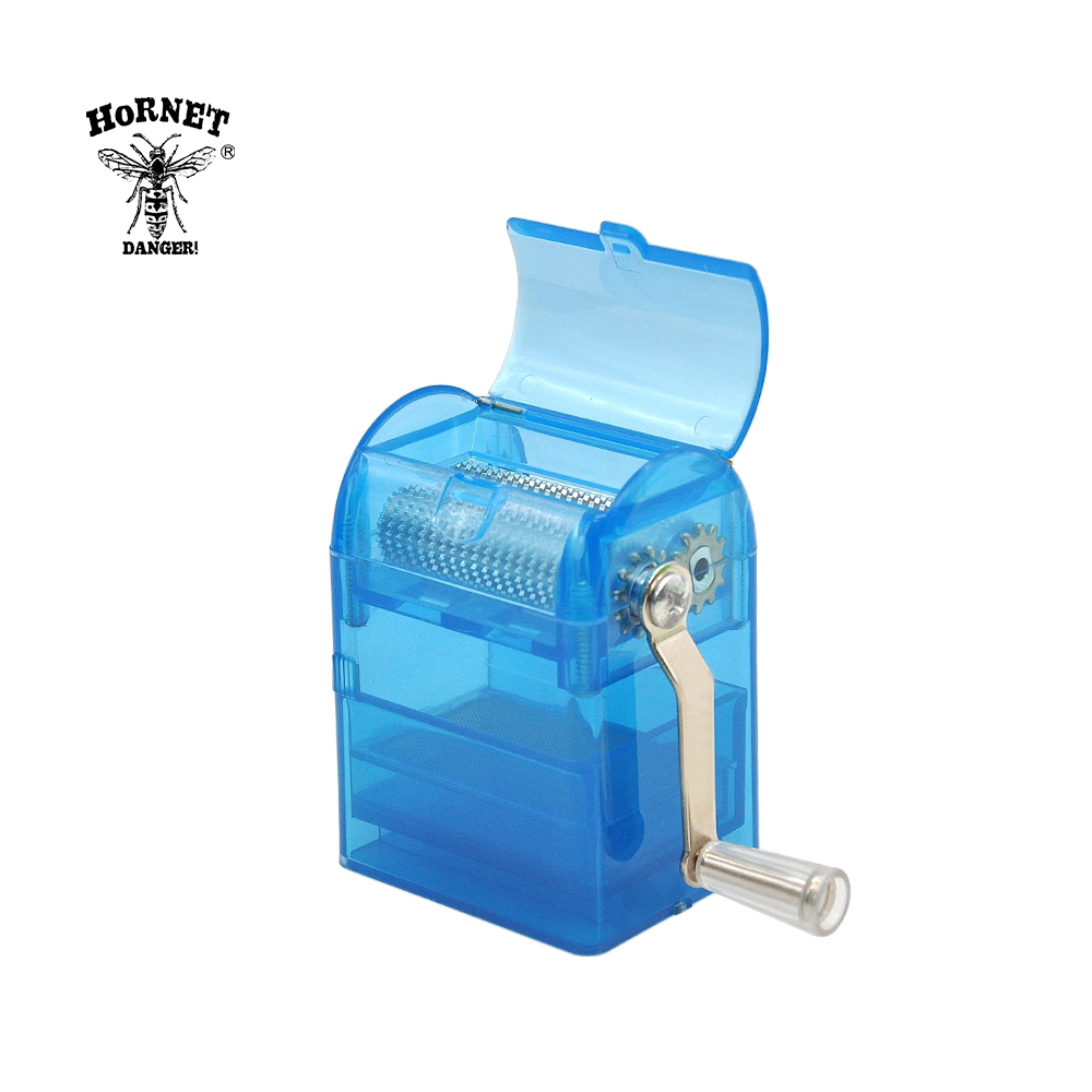 Image 4 - HORNET  Hand Crank Crusher Smoking Grinder Tobacco Cutter Herb Grinder Hand Muller Tobacco Grinder With Storage Case-in Tobacco Pipes & Accessories from Home & Garden