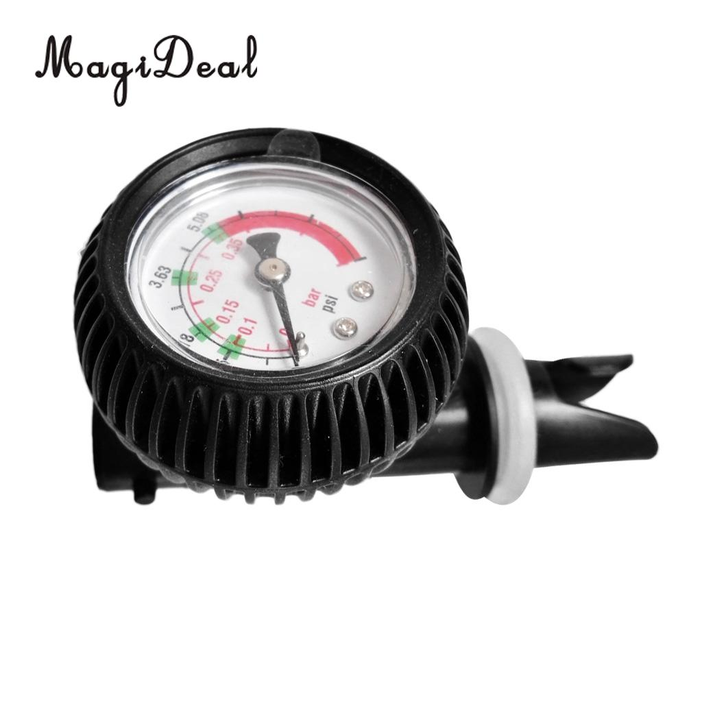 Inflatable boat air pressure gauge air connector for kayak Raft sup board SG