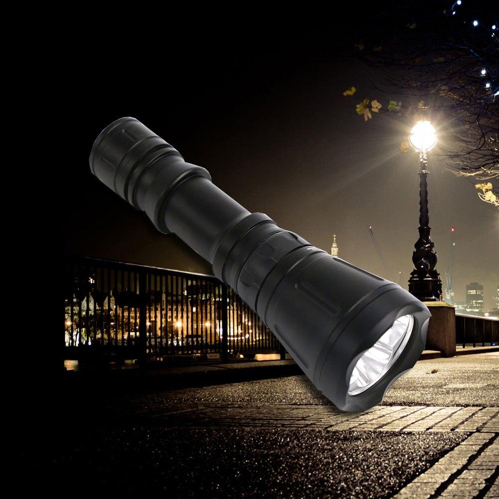 LED flashlight Tactical Flashlight 5000 Lumens XM-L T6 Zoomable 8Modes aluminum Lanterna LED Torch Flashlights For Camping bike high quality black torch light mini led flashlight 2000 lumens zoomable 3 modes aluminum alloy led flashlights torch for camping
