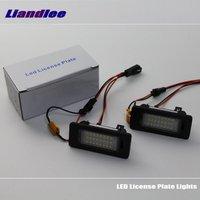 For Skoda Superb Sedan 2013 2014 2015 2016 LED Car License Plate Lights High Quality LED