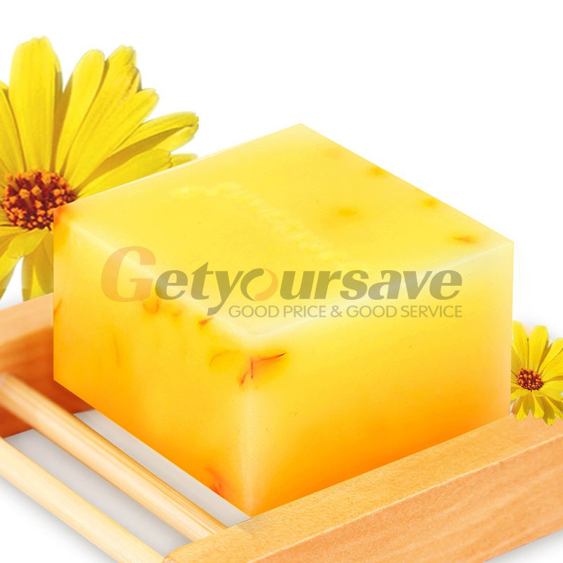 100% Handmade Honey Soap Bath Whitening Exfoliating Glutathione Arbutin Honey Acid Soap 100g