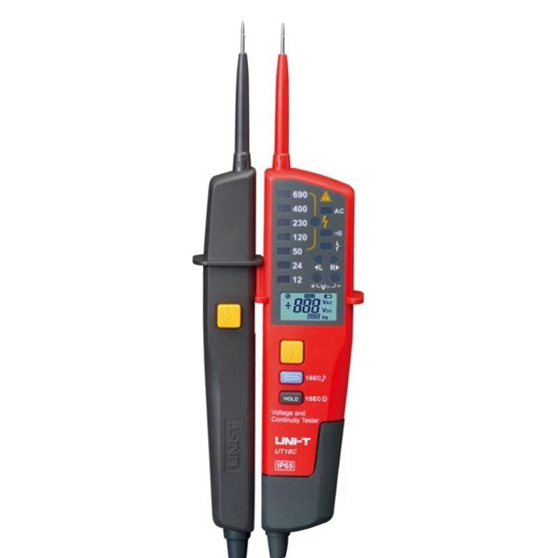 цена Voltage Meter Auto Range Mini Digital Voltage Meter Continuity Test Pencil Tester LED Circuit Detector Lighting Function
