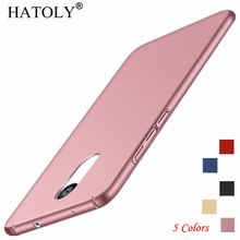 HATOLY Phone Case Xiaomi Redmi Note 4X Cover Slim Smooth & Ultra-thin PC For 4x Funda<