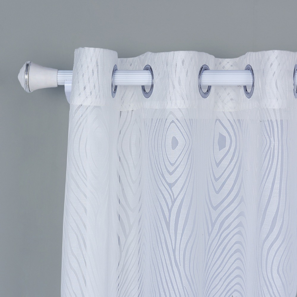 Window Screening Sheer Curtains White Perspective Modern Curtains ...