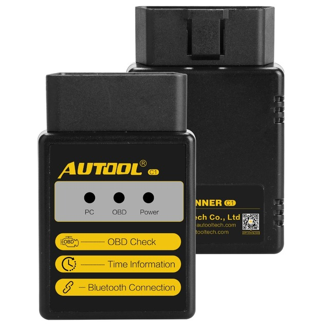 Best Offers AUTOOL C1 ELM327 V1.5 Bluetooth/WIFI OBD2/OBD II Auto Car Diagnostic Scanner Tool With PIC18F25K80 Chip For Android/IOS