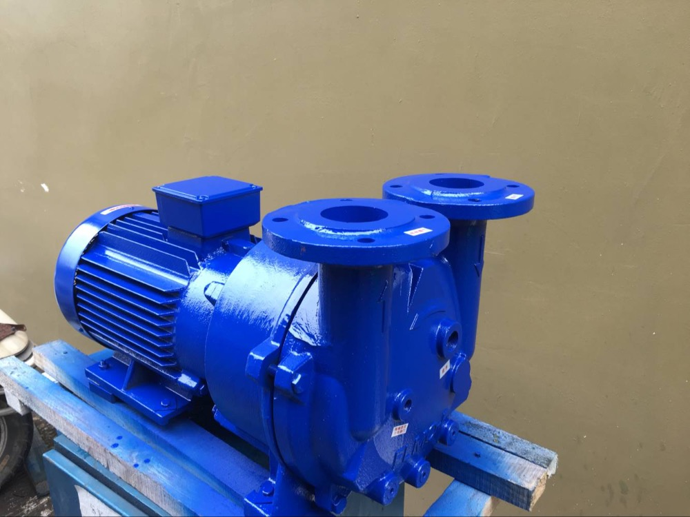 380V 2BV5121 Cast Iron liquid Ring Vacuum Pump 7.5kw Copper impeller Water Ring Vacuum Pump free shipping 12mm thickness 60mm od 36 teeth brass water pump impeller copper tone