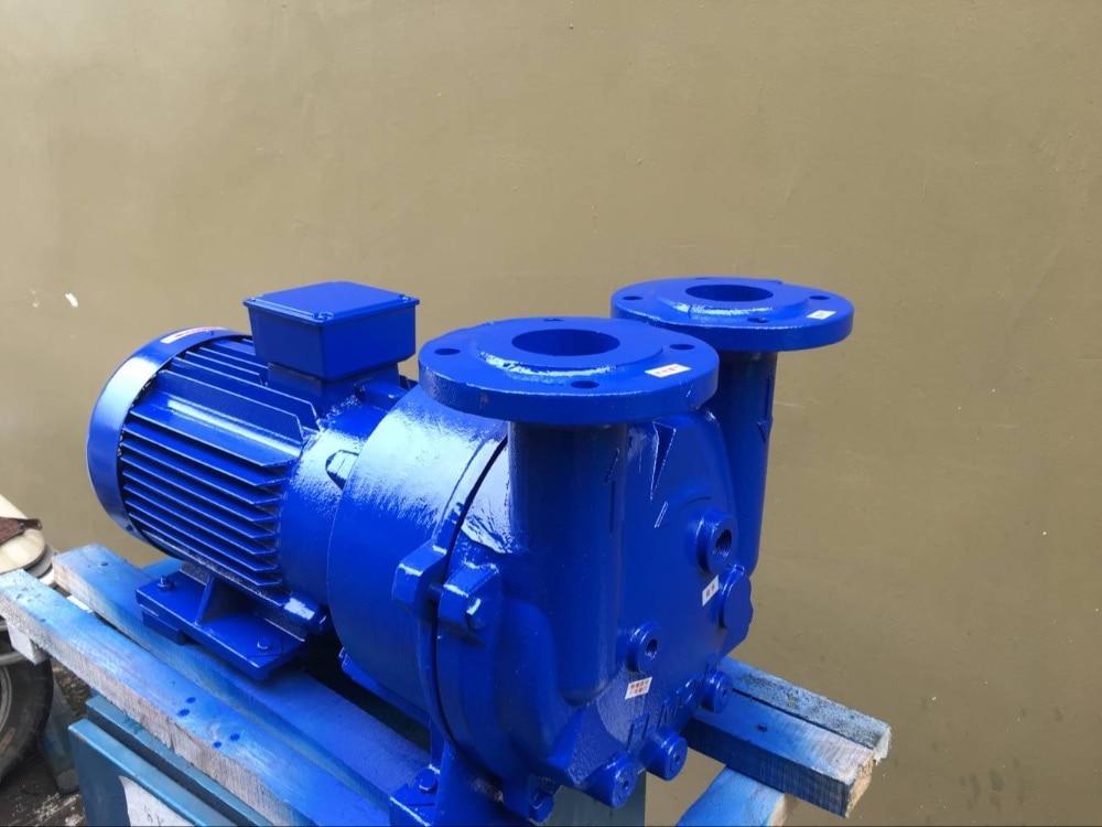 380V 2BV5121 Cast Iron liquid Ring Vacuum Pump 7.5kw Copper impeller Water Ring Vacuum Pump 2be1 2be3 water ring vacuum pump