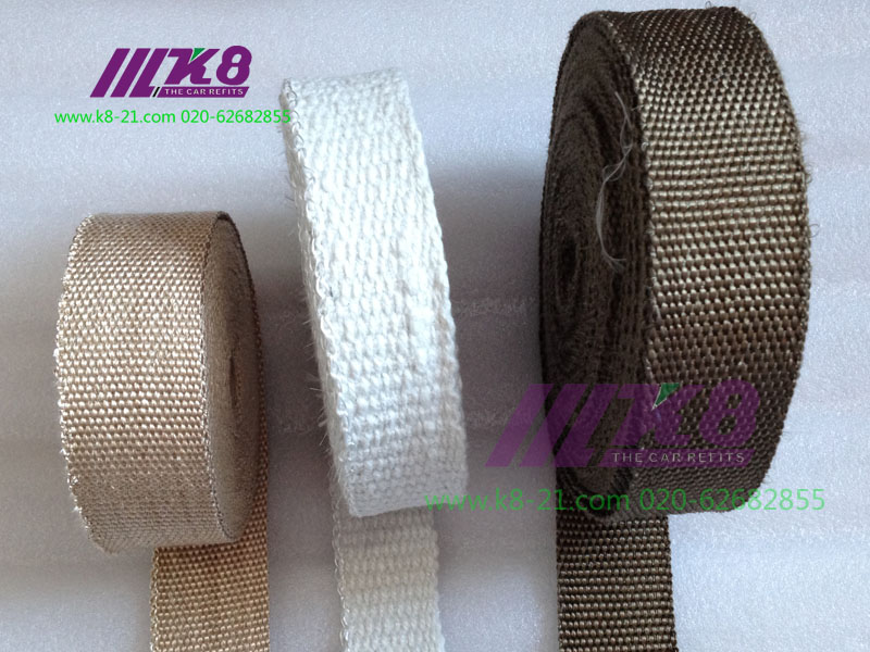Thermo Tec Thermal Wrap,exhaust insulating wrap,header wrap ,exhaust pipe wrap high quality 10meter New