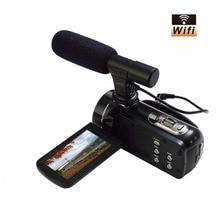 Mini Portable WIFI Camcorder FHD 1080p @ 30 FPS Max 24.0 MP 3.0″ Screen 16X Digital Zoom Digital Camera Photo Video Recorder DV