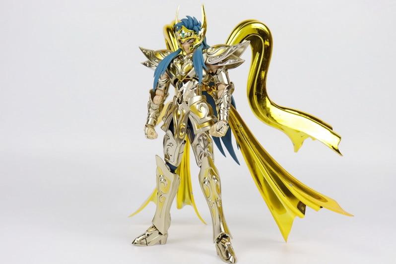 GT Great Toys model Aquarius Camus soul of god Saint Seiya metal armor  Cloth Myth Gold Ex 2 0 action Figure