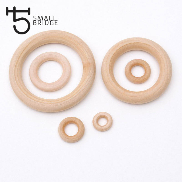 Us 255 15 70mm Unfinished Natural Wood Circles Beads For Necklace Bracelet Jewelry Making Diy Baby Teething Wooden Beads Wholesale W401 In Beads