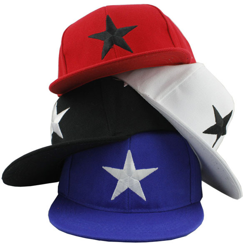 Children's Snapback   Baseball     Cap   Boy Spring Fashion Casual Hip Hop Hat Bone Casquette Kids Hat   Cap   Gorras Girl Pentagra