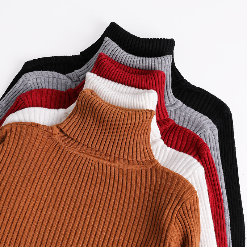 2018 Winter Clothing Turtleneck Women Sweater Autumn Jumper Plus Size Jersey Pull Female Pullover Lady Coat Cashmere Knitted