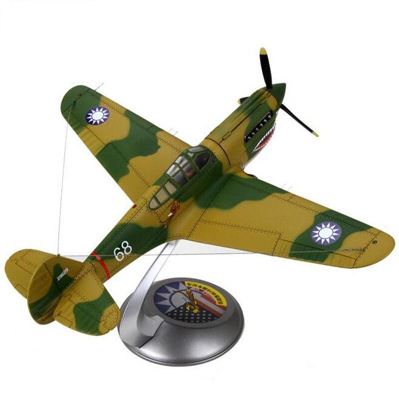 1/32 échelle WWII marine armée américaine USA P40 P-40 avion volant avion modèles adultes enfants jouets pour afficher les Collections d'exposition