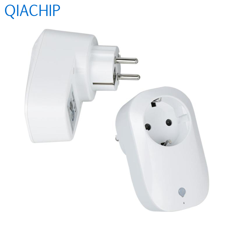 цена на 2pcs EU Plug Wireless Control Smart 2.4G WiFi Socket Switch Remote Control Socket Outlet Timing Switch Smart Home Automation