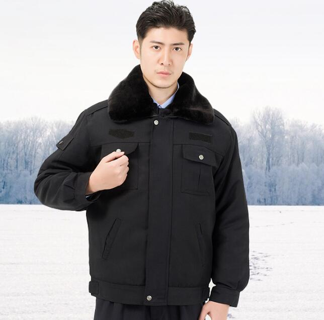 Winter jacket men Security services winter clothes Security uniforms Property Overalls winter