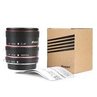 Красно-металлическое Удлинительное Кольцо SHOOT ttl для Canon 600D 550D 200D 800D EOS EF EF-S 6D, аксессуары для камеры Canon 4