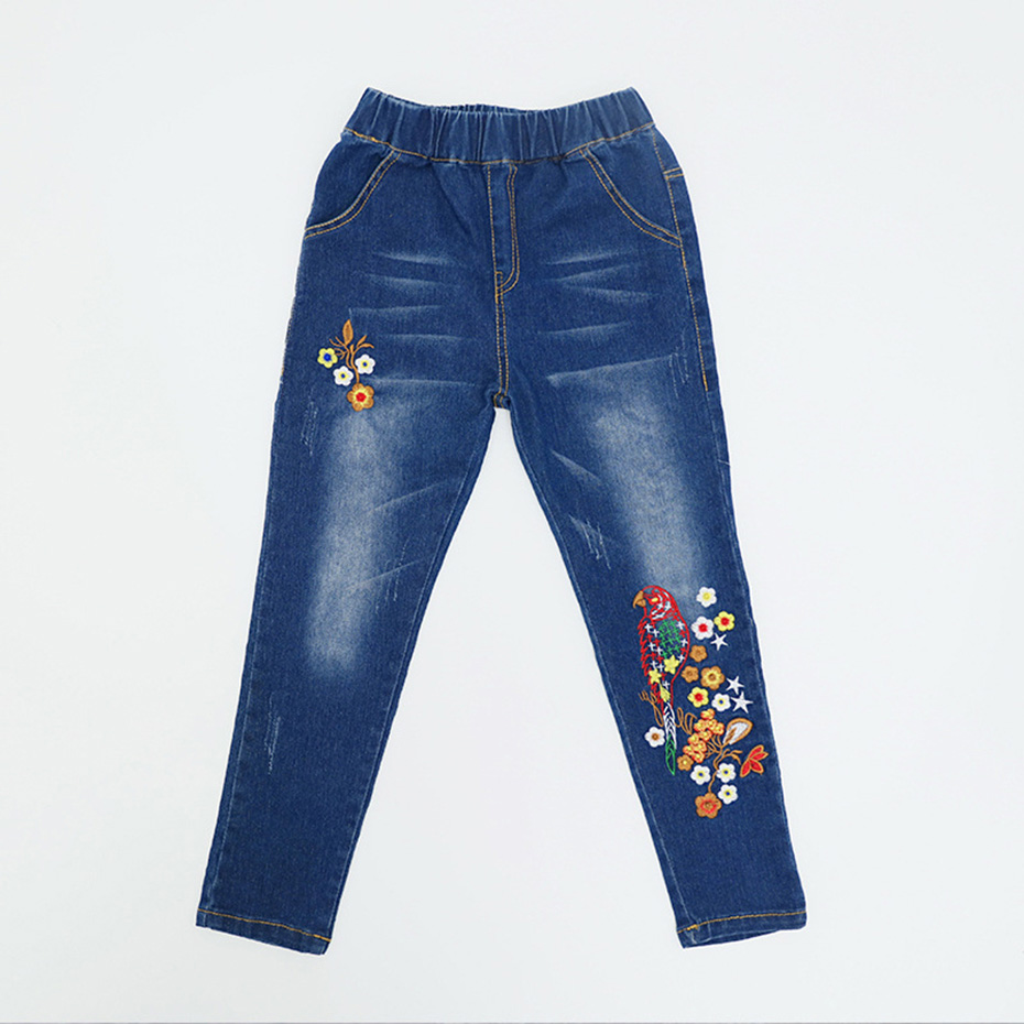 30cc4eeb5 Detail Feedback Questions about Artishare Kids Girls Jeans Floral  Embroidery Kids Girl Jeans Big Children Skinny Jeans Denim Teen Clothing  For Girls 6 8 12 ...