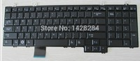 SSEA New original US black Keyboard For DELL Studio 1735 1736 1737 laptop Free Shipping