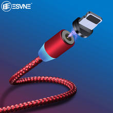 ESVNE 1M 2M Magnetic Usb Cable For Xiaomi Type C Fast Charging Micro Charge iphone Samsung Huawei