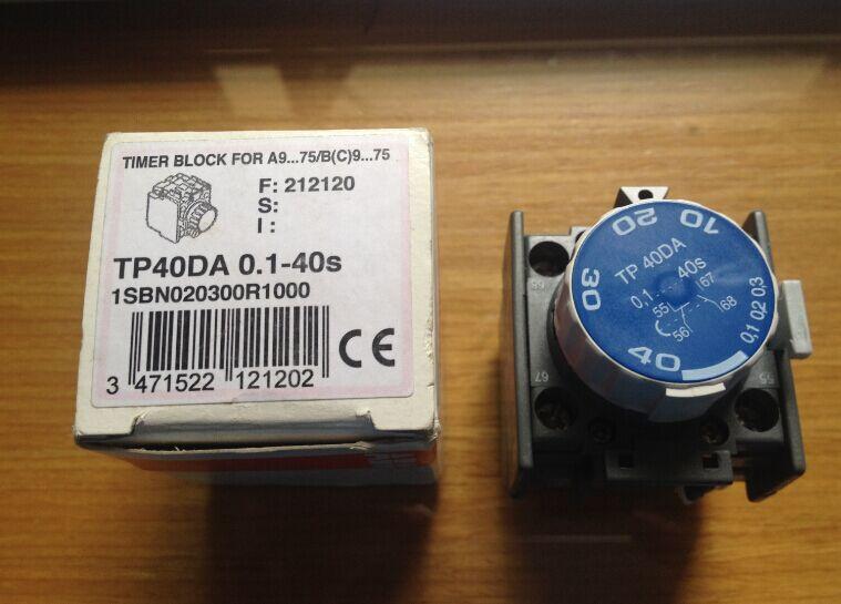 ABB contactor-temporizador de bolsa de aire TP40DA nuevo original 1 pieza