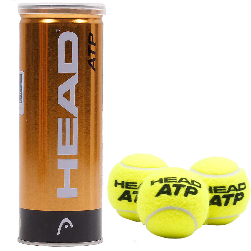 Original Head Atp 3pcs Tube Davis Cup Tennis Balls Official Tennis Ball Of Davis Cup Raquete De Tennis Match Ball 1 Tube Tennis Balls Head Tennis Ballsball Tennis Aliexpress