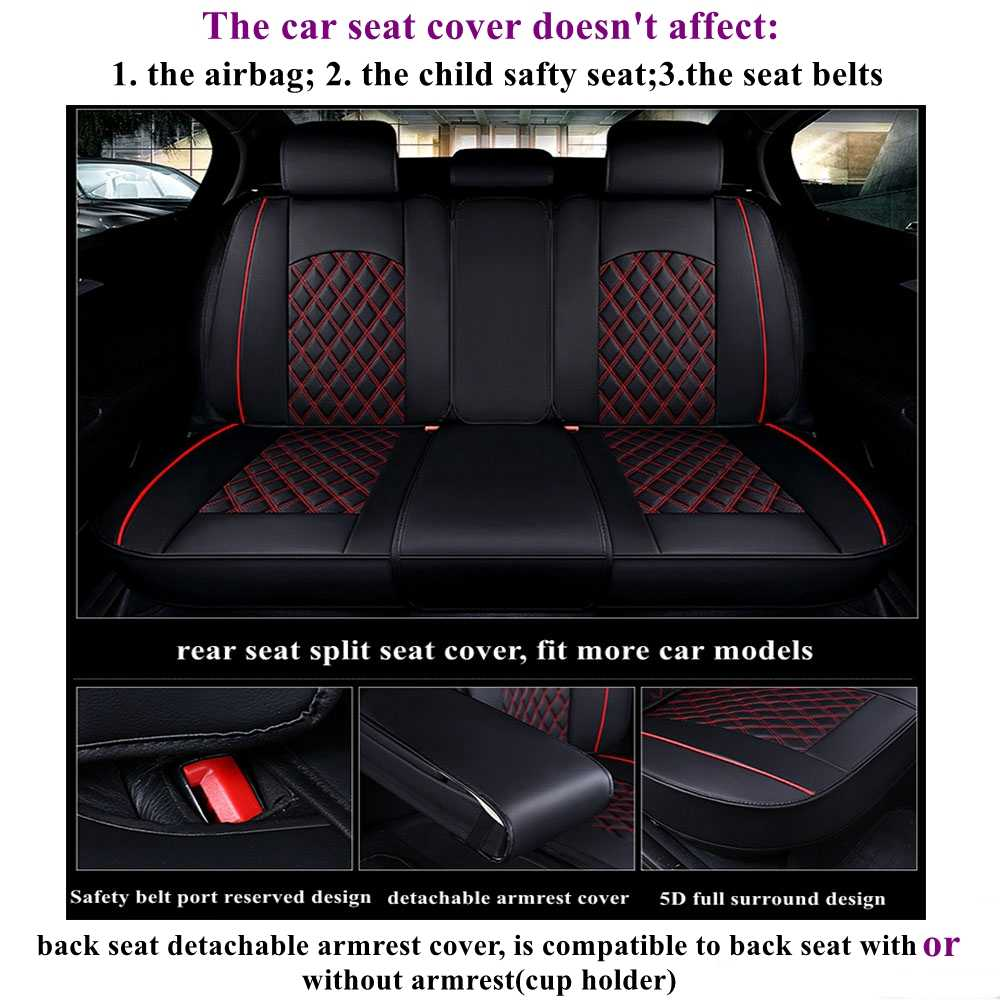 Frente + para asiento trasero de coche para Toyota rav4 chr fortuner 4runner Land Cruiser Avalon Avensis Camry Reiz automóviles fundas de asiento
