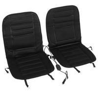 2pcs Car Heated Seat Cushion DC 12V Quickly Electric Heating Pad Car Seat Covers Warm Keeping