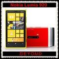 Мобильный телефон Nokia Lumia 920, разблокированный окна wi-fi GPS 4,5 '' 8 mp 3 G и 4 G GSM 32 гб внутренний ёмкость
