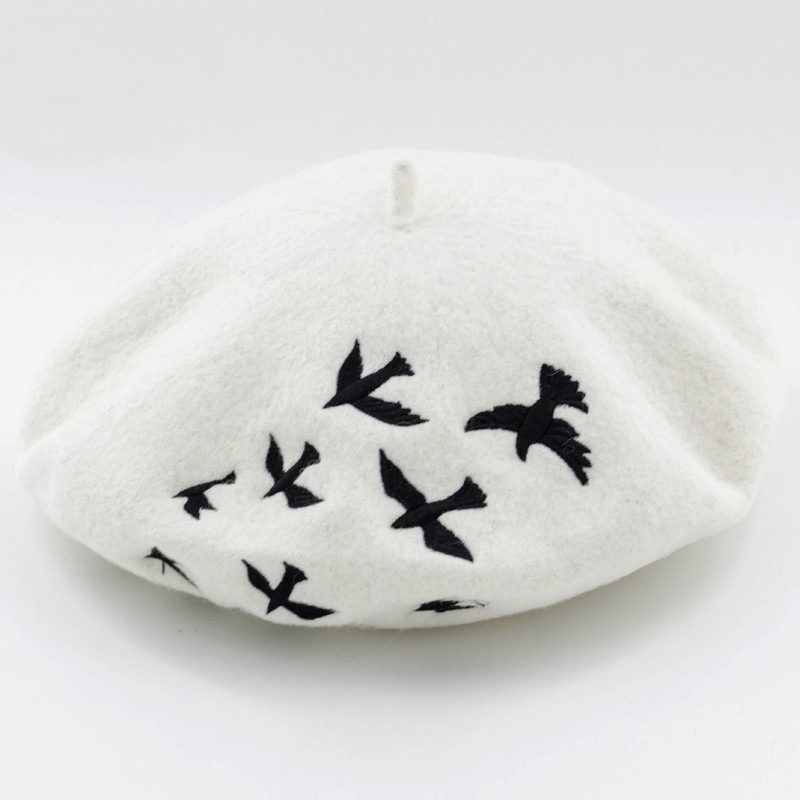 Sombreros de invierno para las mujeres Boinas punto lana mujer ...