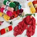 180*80 CM Moda 2016 Nuevo Diseñador de la Marca Mujeres de La Bufanda de Invierno de Algodón y Lino Mezclado Sólido Echarpes Fulares Femme bufandas 99633