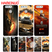 Hameinuo Мир танков крышка телефона чехол для Huawei Ascend P7 P8 P9 P10 lite плюс G8 G7 Honor 5C 2017