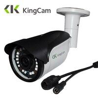 KingCam FHD 1080P POE Zinc Alloy Metal Anti Vandal Outdoor Indoor IP Camera IP66 With ONVIF