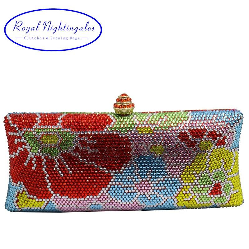 Роскошный цветок кристалл Вечерние сумки и Клатчи для женские вечерние свадебные вечерние и соответствующие Обувь и платье