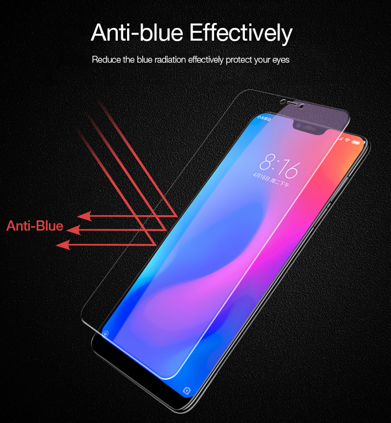 CAFELE Screen Protector For Xiaomi 9 8 se 5 A2 Lite Redmi note 7 Tempered Glass 2 5D Edge HD Clean Protective Glass Phone Film in Phone Screen Protectors from Cellphones Telecommunications