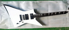 Shelly new store factory custom white jackson ebony fingerboard guitar 6 string esp electric guitar musical instrument shop(China)
