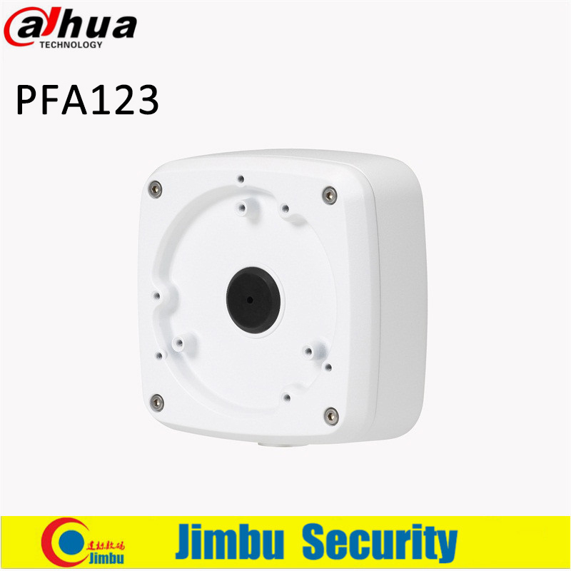 DAHUA PFA123 Water-proof Junction Box Neat & Integrated design Material: Aluminum IP66 camera bracket dahua waterproof junction box pfa123