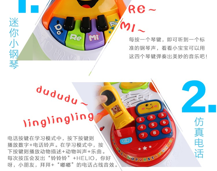 Activity & Gear Walkers Multifunction Language Learning Table For Kids Baby Early Educational Toy Walker Tablet Reading Machine Puzzle Game Desk
