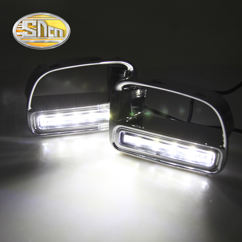 SNCN LED Daytime Running Light For BMW Mini Cooper Countryman,Car Accessories Waterproof ABS 12V DRL Fog Lamp Decoration набор приспособлений для обслуживания грм двигателя bmw n12 mini cooper jonnesway al010079