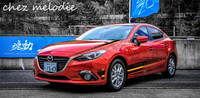 KK Original design top quality car body film sticker paper for Mazda 3 Axela/6 Atenza, waterproof, 5 year lifetime