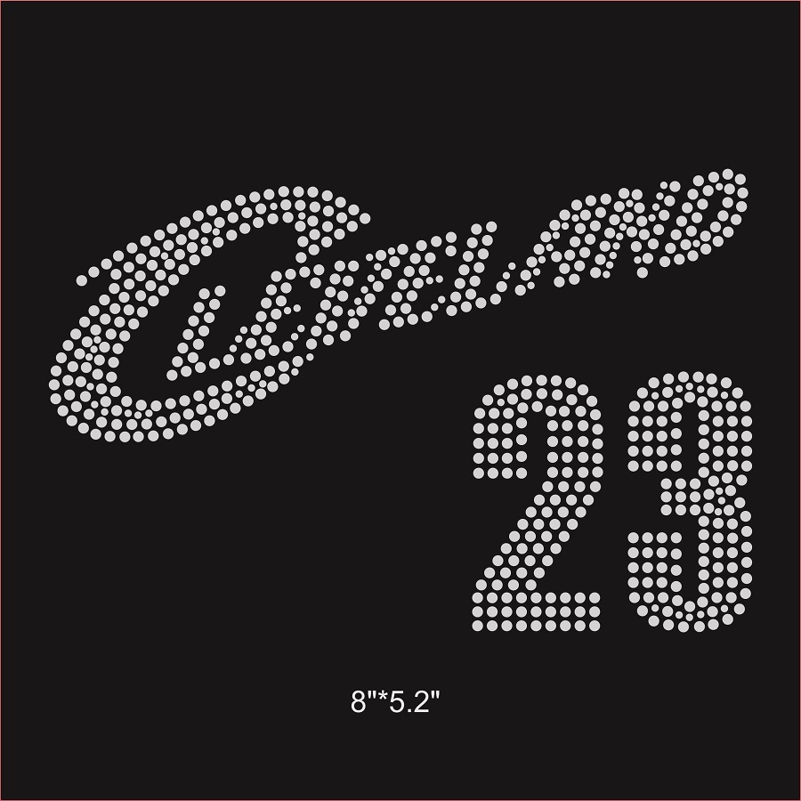 LeBron 23 Hot fix crystal transfer for your basketball fans bling bling-in  Rhinestones from Home   Garden on Aliexpress.com  96beac63f0a6