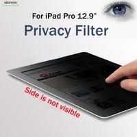 SZEGYCHX 12 9 PET Materia 180 Privacy Filter Screen Anti Glare Tablet PC Protector Filter Film