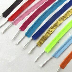 10 мм полиэфирный сатиновый переплет BiasTape, трубопроводный шнур для рукоделия, шитья, «сделай сам», аксессуары ручной работы, веревка, лента, 10 метров, тесьма
